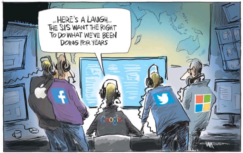 Emmerson - NZ Herald 27 November 2014 state spying
