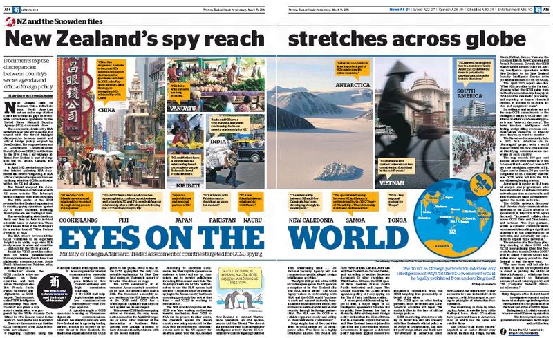 NZ Herald March 2015