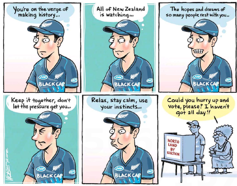 Moreu - Timaru Herald 27 March 2015 by-election NOrthland