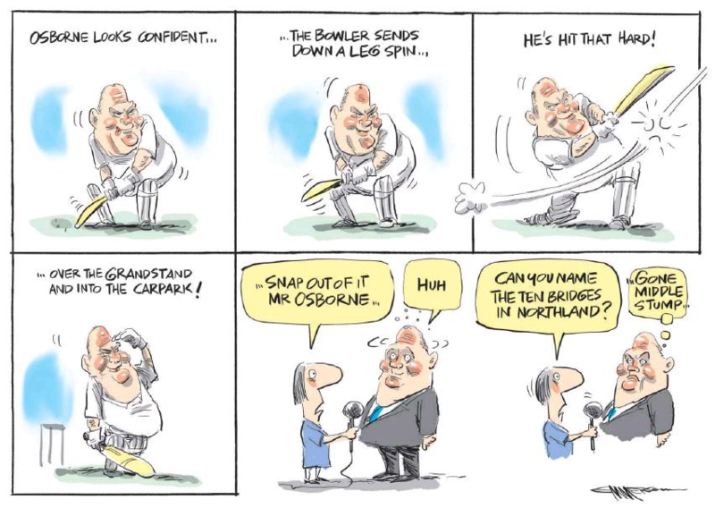 Emmerson - NZ Herald 21 March 2015 Northland by-election