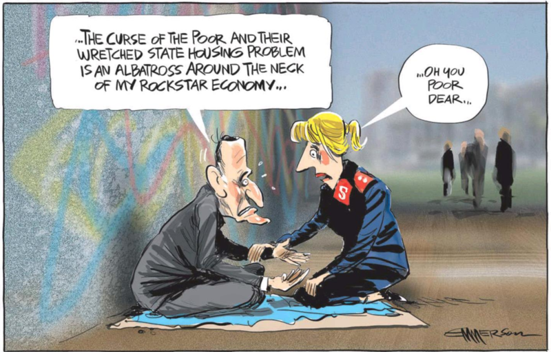 Emmerson - NZ Herald 30 January 2015 John Key housing economy inequality