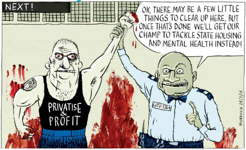 Murdoch - Sunday Star Times 26 July 2015 prisons