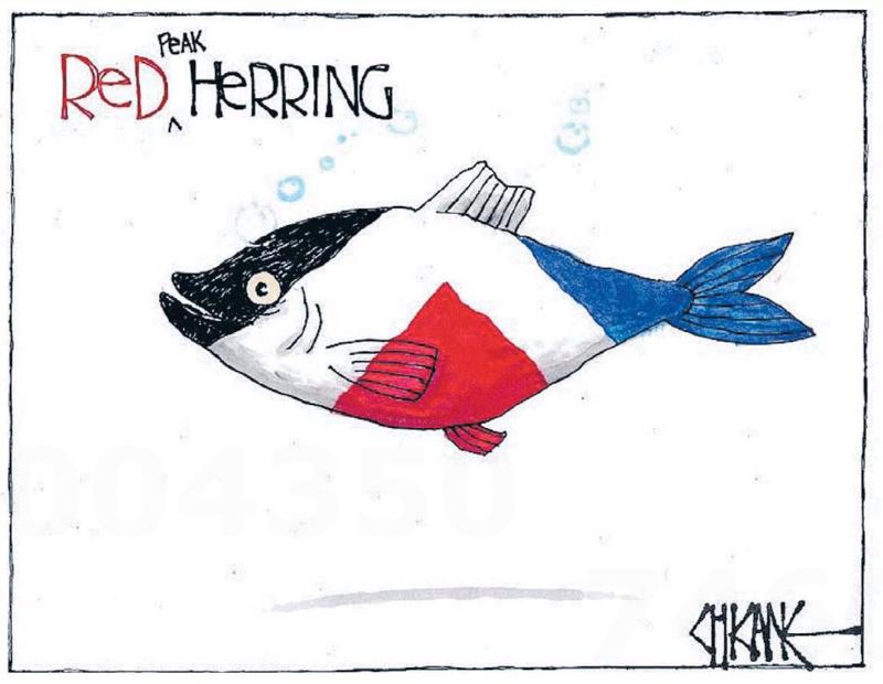 Chicane - Southland Times 14 September 2015 flag change red peak