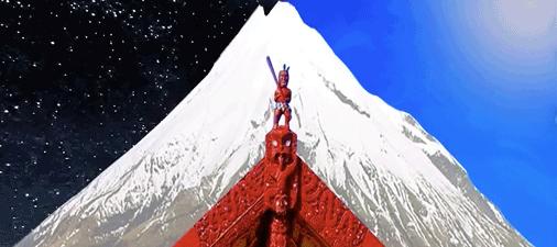 Red Peak NZ flag