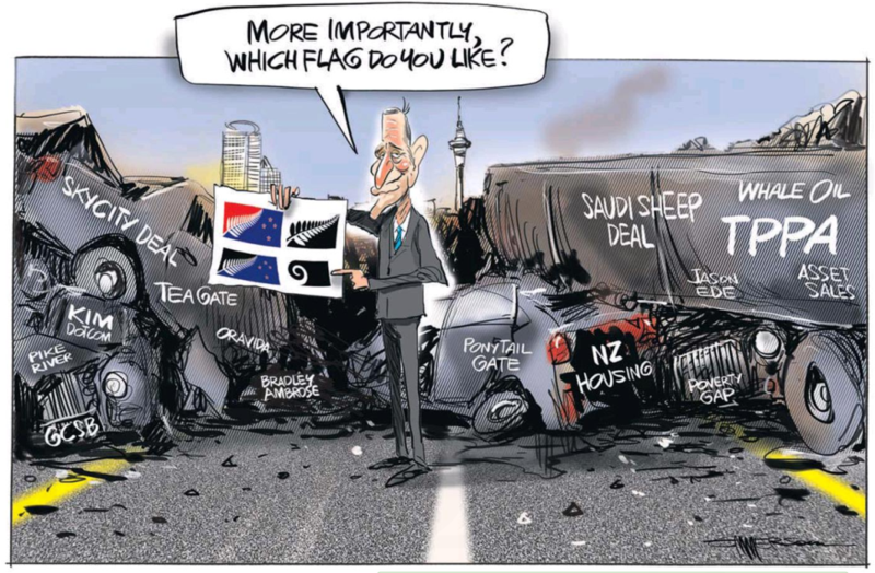 Emmerson - NZ Herald 2 September 2015 flag key