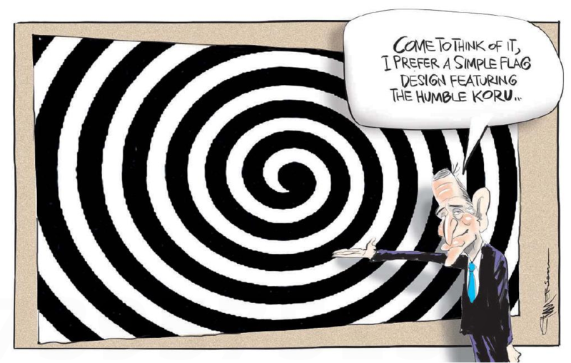 Emmerson - NZ Herald 12 August 2015 Flag key