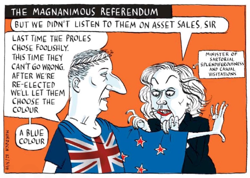 Murdoch - The Press 12 March 2014 flag change referendum