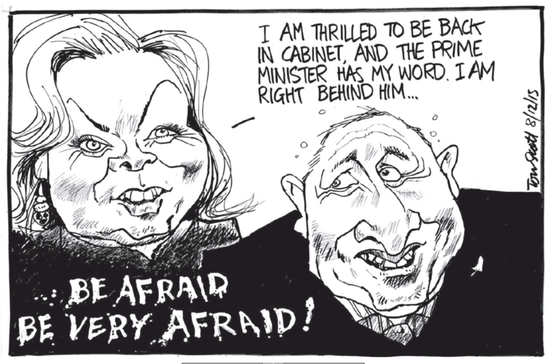 Scott - Dominion Post 8 December 2015 Judith Collins National