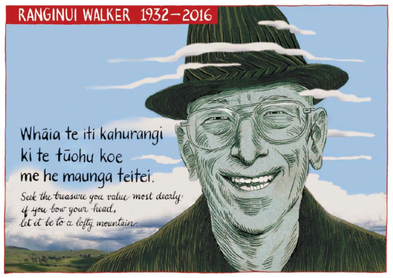 Murdoch - The Press 2 March 2016 Ranginui Walker