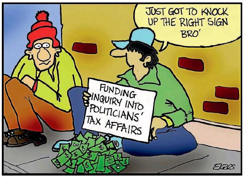 Ekers - Wellingtonian 14 April 2016 tax begging