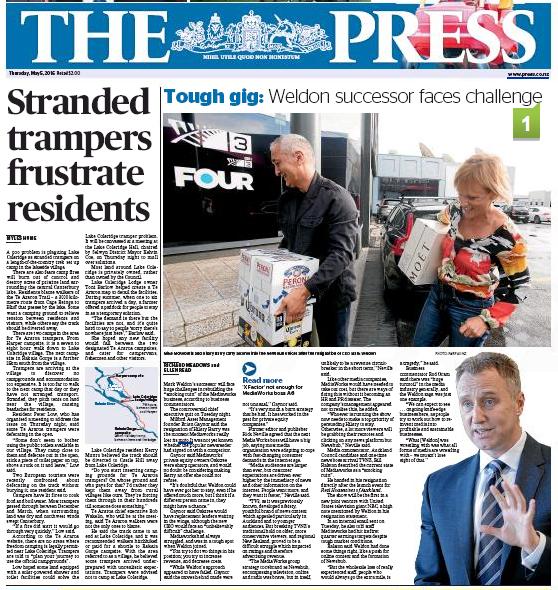 The Press 5 May 2016 media