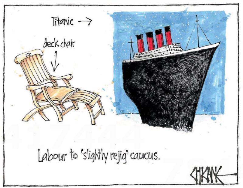 Chicane - Southland Times 18 April 2016 Labour Little