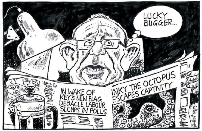 Scott - Dominion Post 15 April 2016 Little Labour