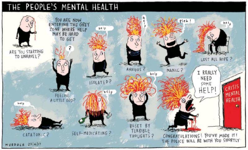 Murdoch - Sunday Star Times 23 April 2017 mental health
