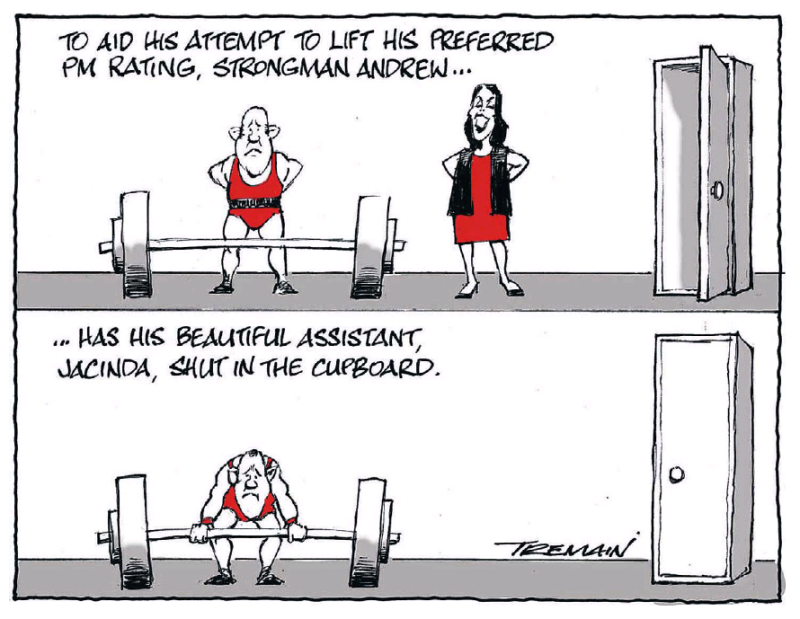 Tremain - ODT 3 April 2017 Labour Little Ardern