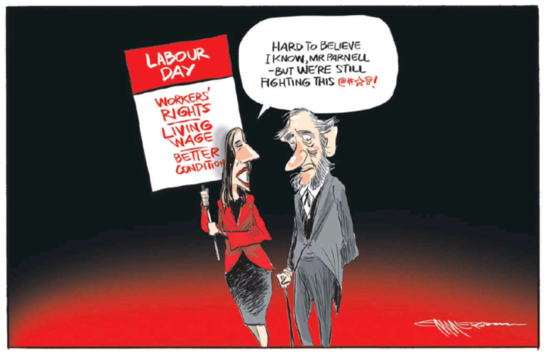 Emmerson - NZ Herald 23 October 2017 Labour Day Jacinda Ardern