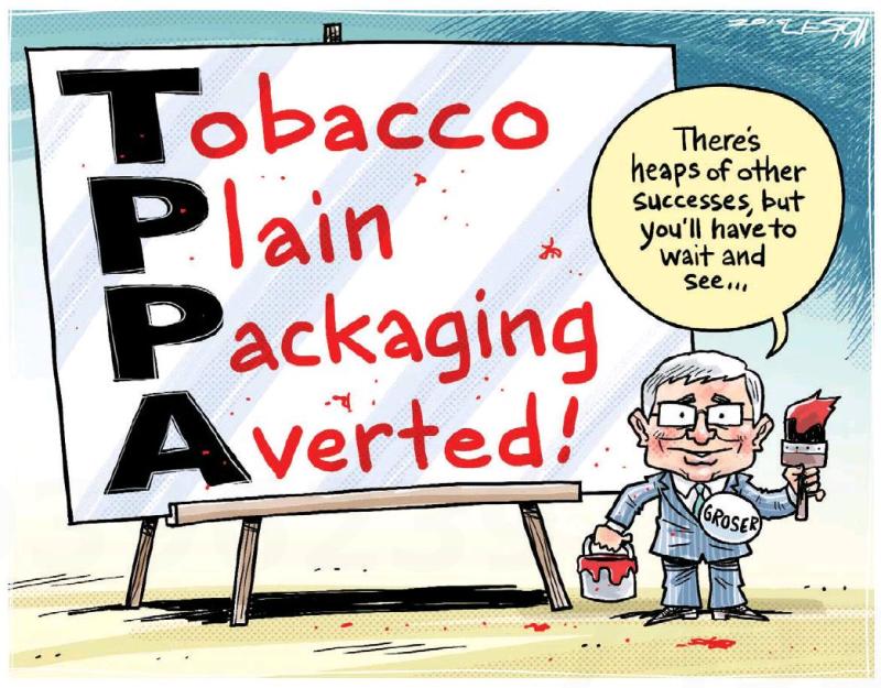 Moreu - Timaru Herald 7 October 2015 TPPA Groser
