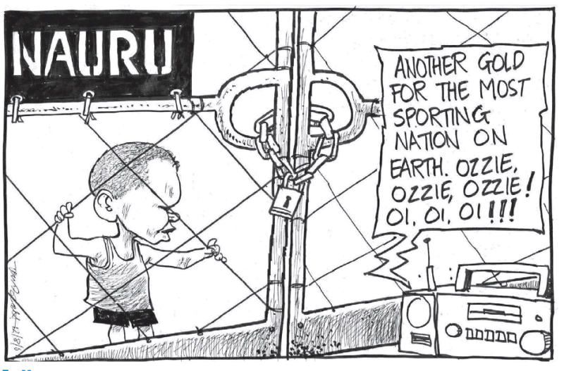 Scott - Dominion Post 12 August 2016 Nauru Australia