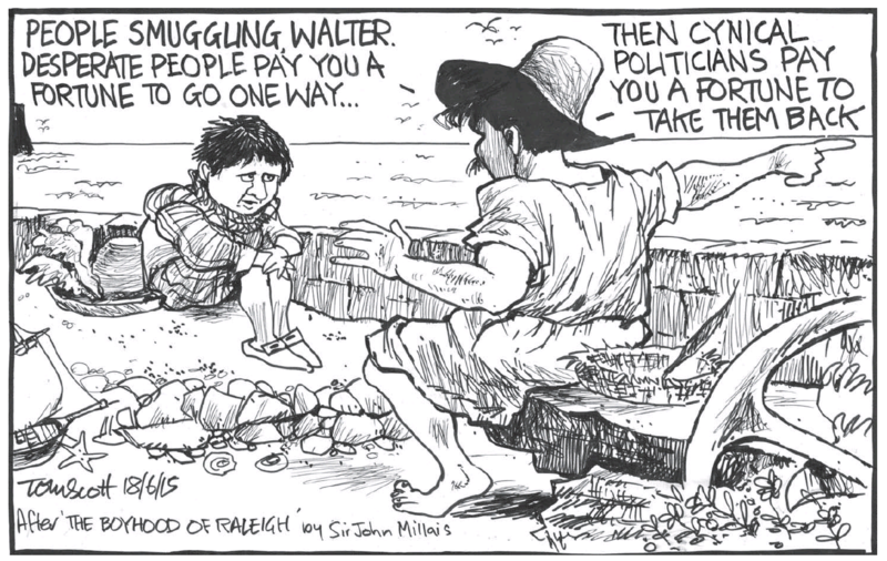 Scott - Dominion Post 18 June 2015 refugees