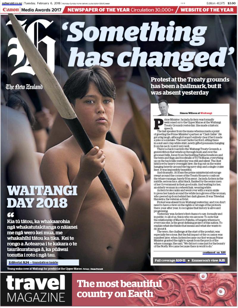 NZ Herald Waitangi Day