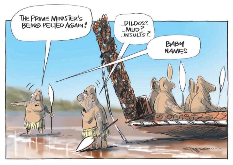 Emmerson - NZ Herald 3 February 2018 Waitangi Jacinda Ardern