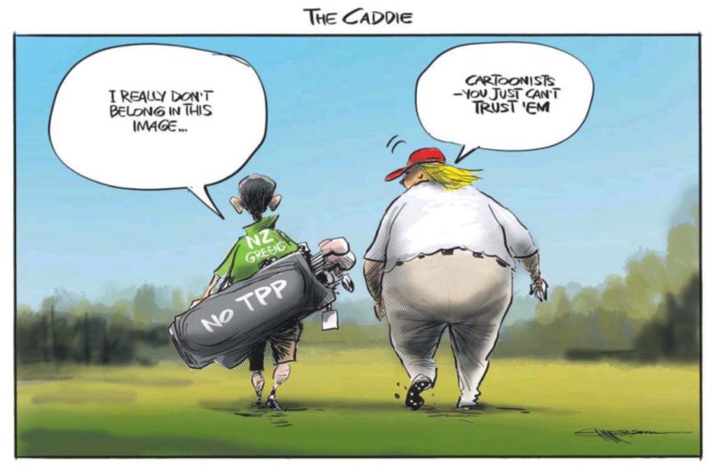 Emmerson - NZ Herald 14 November 2017 Greens TPP Trump