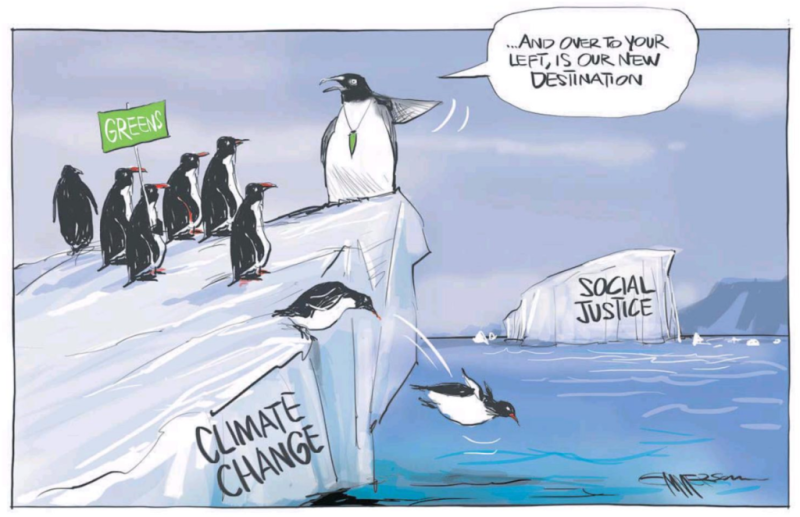 Emmerson - NZ Herald 10 April 2018 Greens Davidson