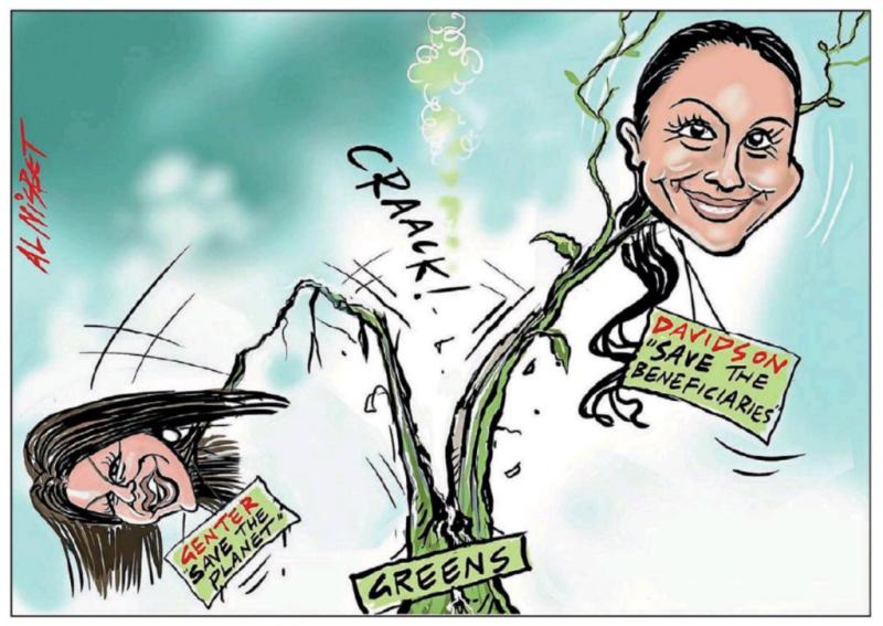 Nisbet - The Press 10 April 2018 Greens Davidson