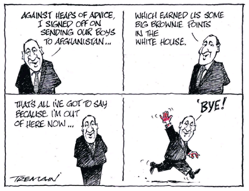 Tremain - ODT 24 March 2017 John Key war hager hit run military