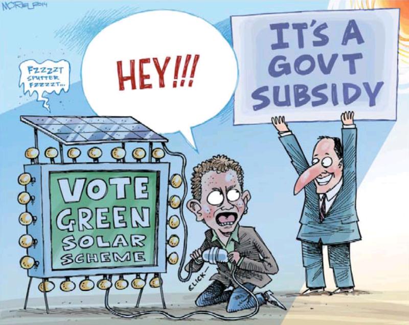 Moreu - Nelson Mail 18 February 2014 Green solar scheme