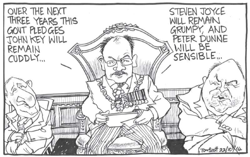 Scott - Dominion Post 22 October 2014 National Government