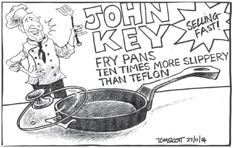 Scott - Dominion Post 27 November 2014 Dirty Politics John Key