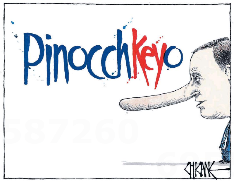 Chicane - Southland Times 27 November 2014 Dirty Politics John Key