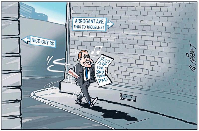 Nisbet - Sunday Star Times 30 November 2014 Dirty Politics John Key