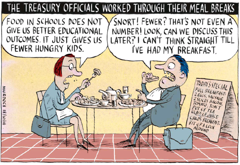Murdoch - Dominion Post 18 October 2014 poverty inequality