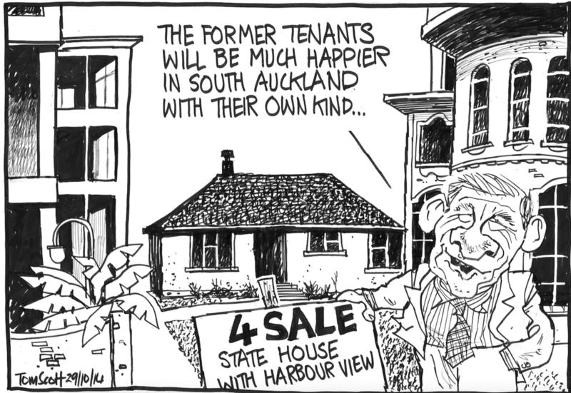 Scott - Dominion Post 29 October 2014 housing inequality