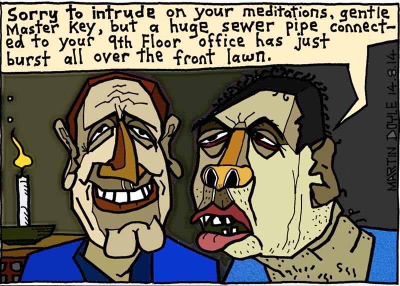 Doyle - 14 August 2014 Dirty Politics