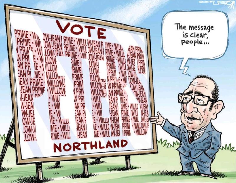 Moreu - Timaru Herald 10 March 2015 Little Labour Northland