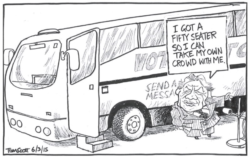 Scott - Dominion Post 6 March 2015 NZ First Winston Peters