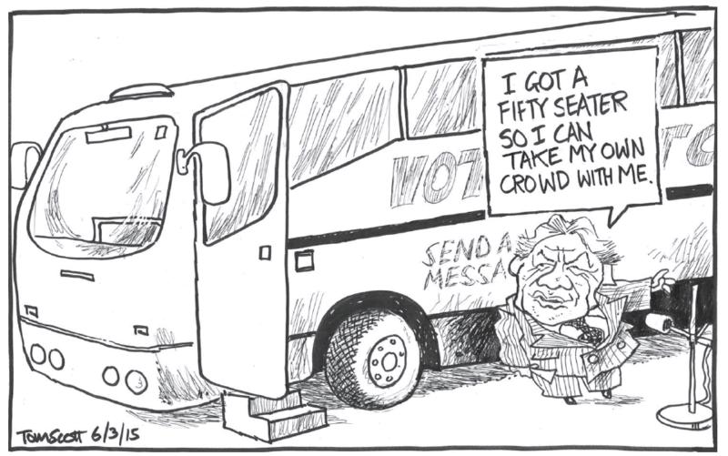 Scott - Dominion Post 6 March 2015 NZ First Winston Peters
