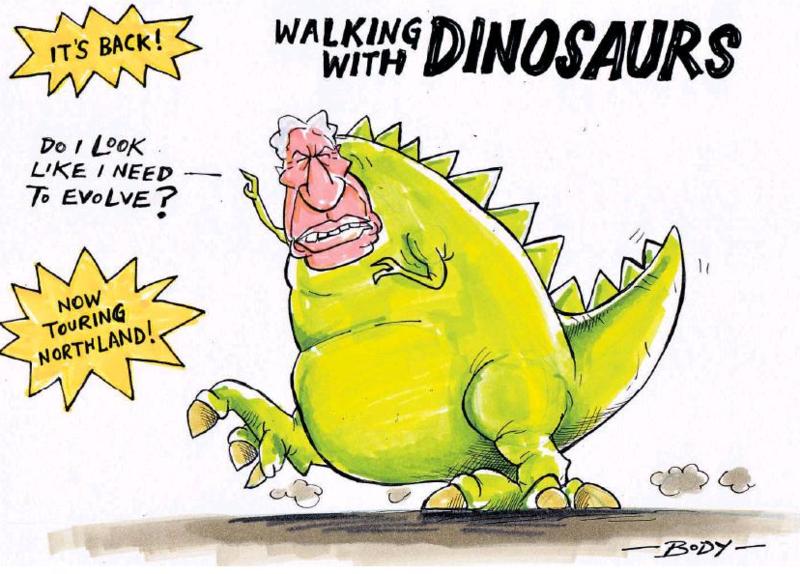 Body - NZ Herald 7 March 2015 Winston Peters NZ first