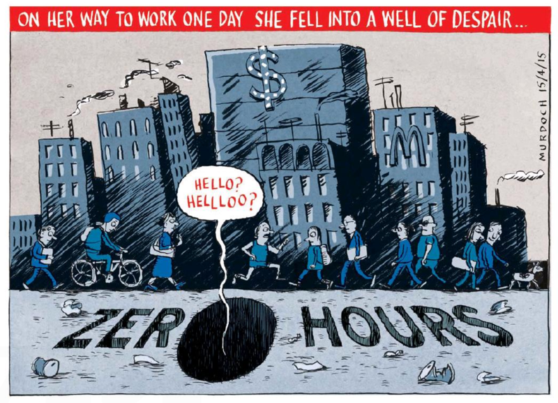 Murdoch - The Press 15 April 2015 zero hours contract