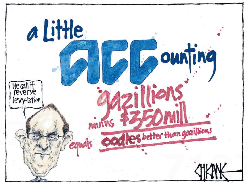 Chicane - Southland Times 10 March 2015 ACC Andrew Little Labour
