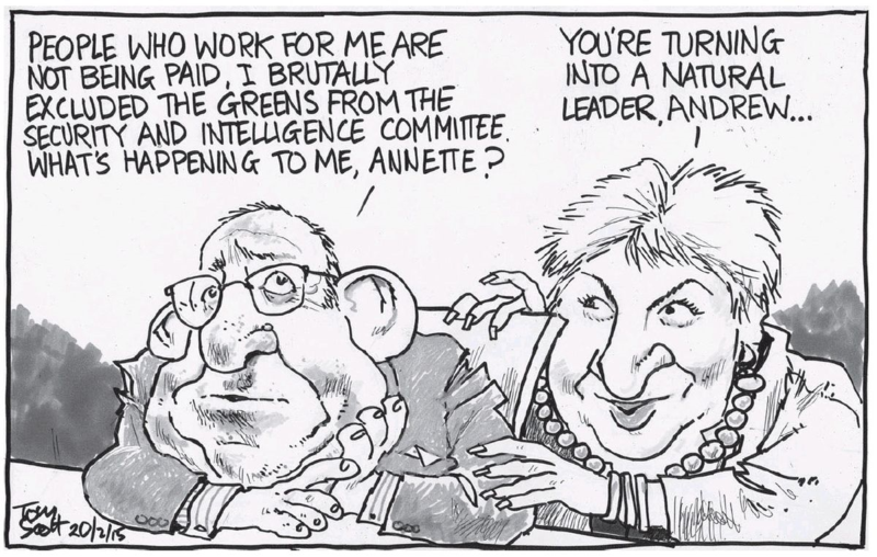 Scott - Dominion Post 20 February 2015 Andrew Little Labour