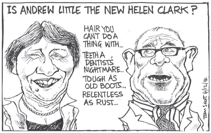 Scott - Dominion Post 4 December 2014 Andrew Little Labour