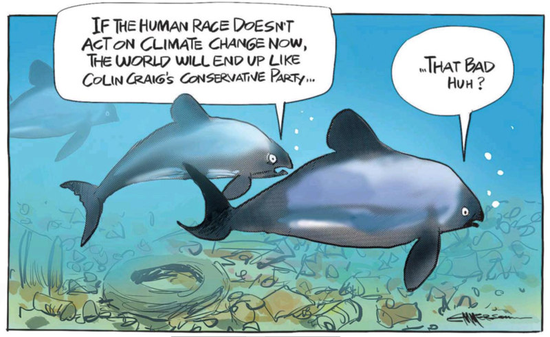 Emmerson - NZ Herald 24 June 2015 climate change Colin Craig conservatives