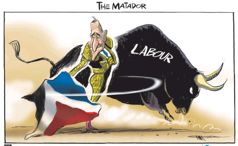 Emmerson - NZ Herald 17 September 2015 Key flag red peak