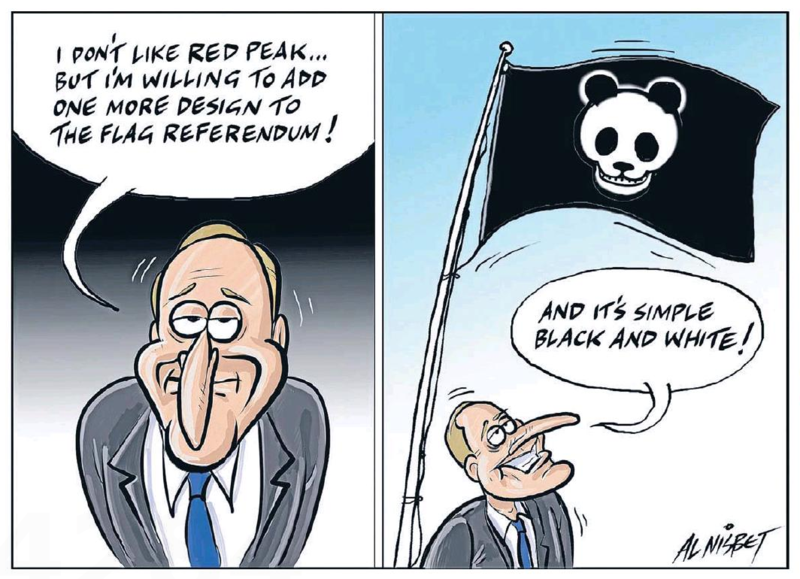 Nisbet - The Press 24 September 2015 flag change