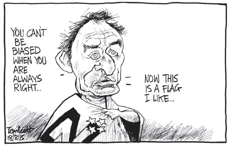 Scott - Dominion Post 18 August 2015 Mike Hosking National media flag
