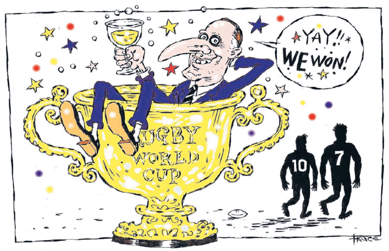 Hodgson - Dominion Post 2 November 2015 Rugby John Key